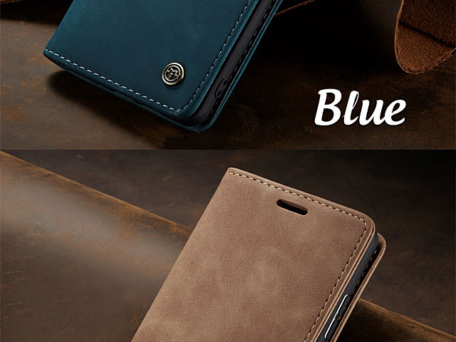 Samsung Galaxy S10 Retro Flip Leather Case