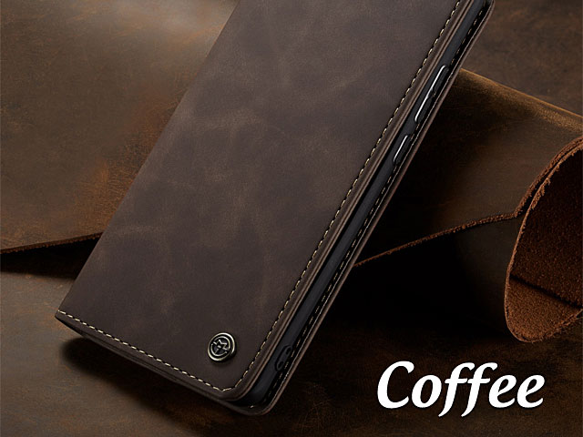 iPhone 5 / 5s / SE Retro Flip Leather Case