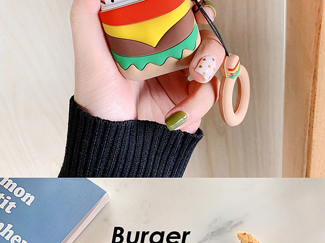 Fast Food Shape AirPods Case