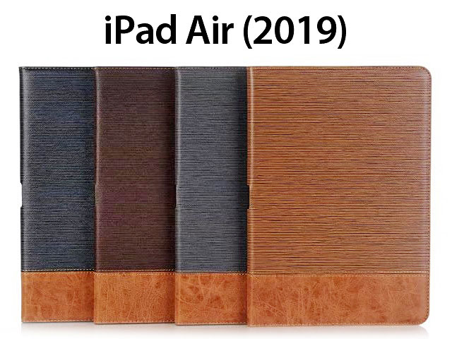 iPad Air (2019) Two-Tone Leather Flip Case