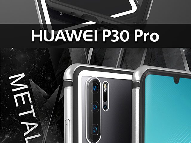 LOVE MEI Shadow Series Tempered Glass Case for Huawei P30 Pro