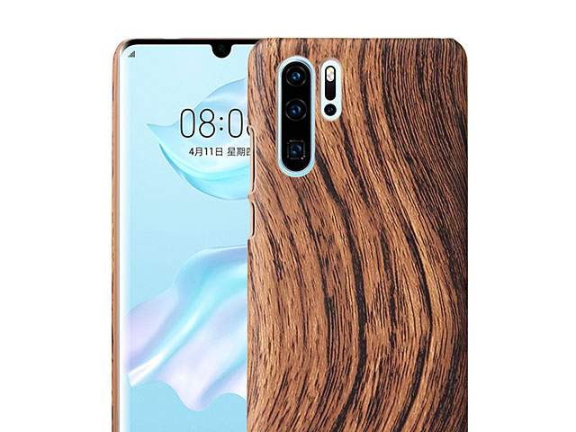 Huawei P30 Pro Woody Patterned Back Case