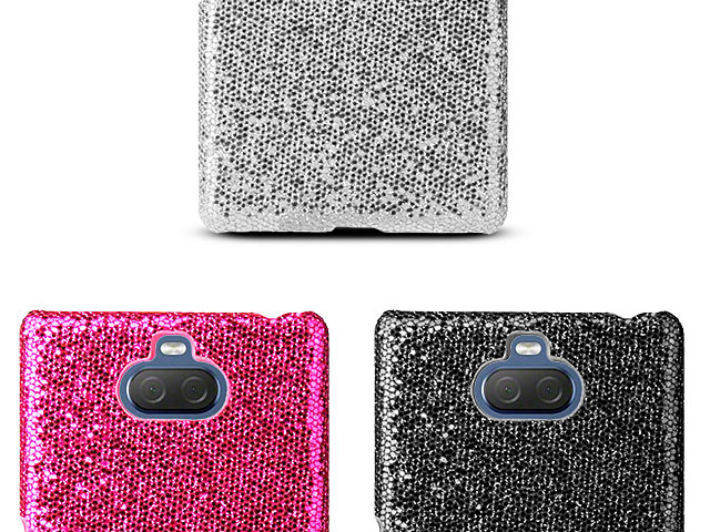 Sony Xperia 10 Plus Glitter Plastic Hard Case