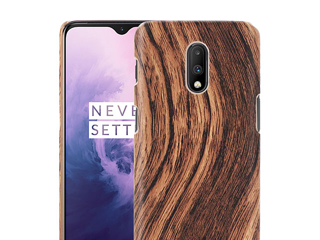 OnePlus 7 Woody Patterned Back Case