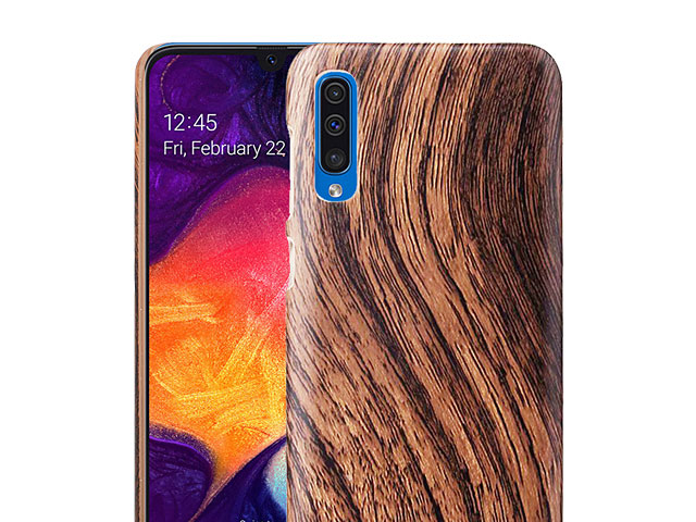 Samsung Galaxy A50 Woody Patterned Back Case