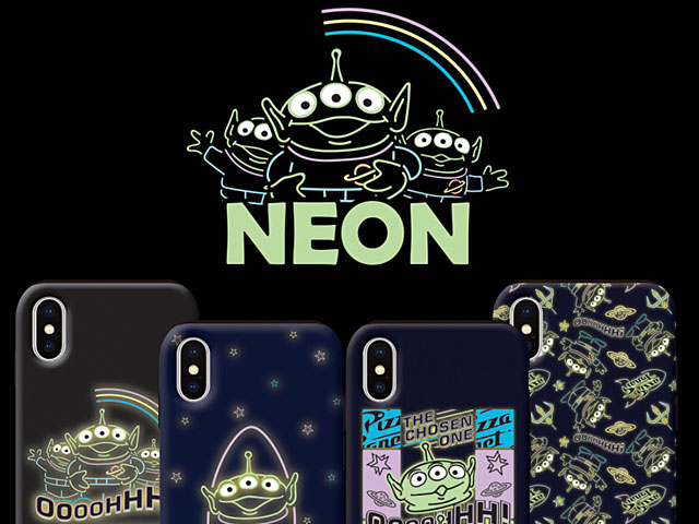 Toy Story - Neon Alien Case for iPhone XS (5.8)