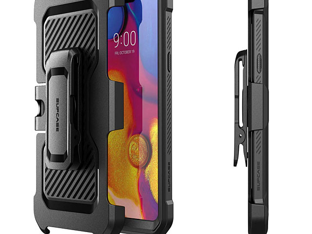 Supcase Unicorn Beetle Pro Rugged Holster Case for LG G8 ThinQ