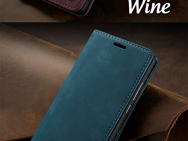 OnePlus 7 Retro Flip Leather Case