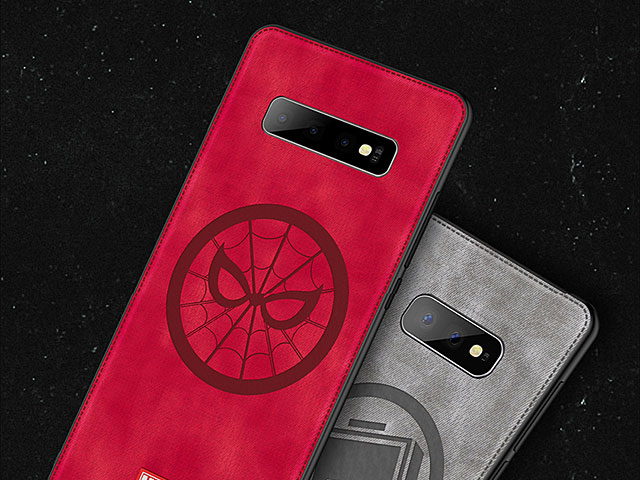Marvel Series Fabric TPU Case for Samsung Galaxy S10+