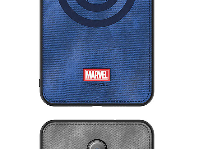 Marvel Series Fabric TPU Case for OnePlus 7