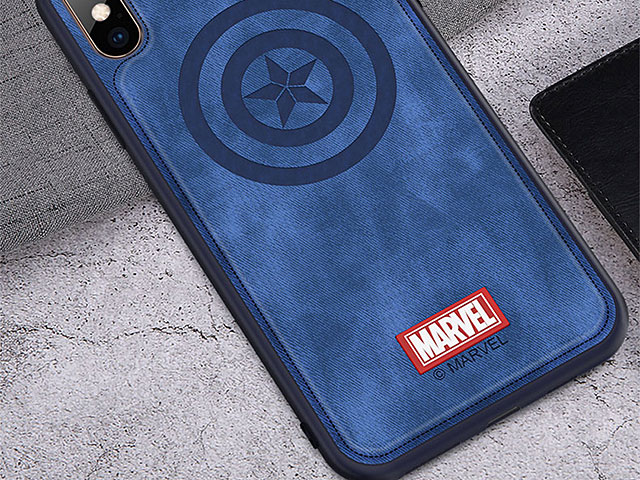 Marvel Series Fabric TPU Case for iPhone XS Max (6.5)