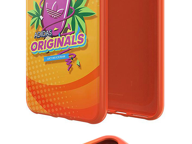 Adidas Originals BODEGA FW19 Molded Case (Orange) for iPhone X / XS (5.8)