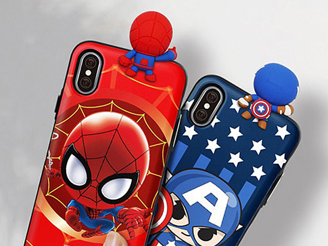 marvel iphone xr flip case