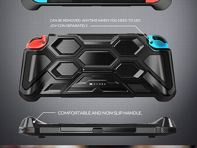 Mumba Heavy Duty Case with stand for Nintendo Switch