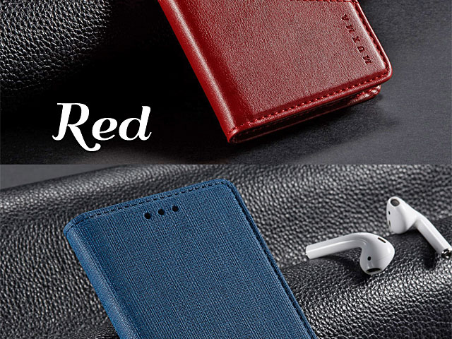 Samsung Galaxy Note9 Canvas Flip Card Case