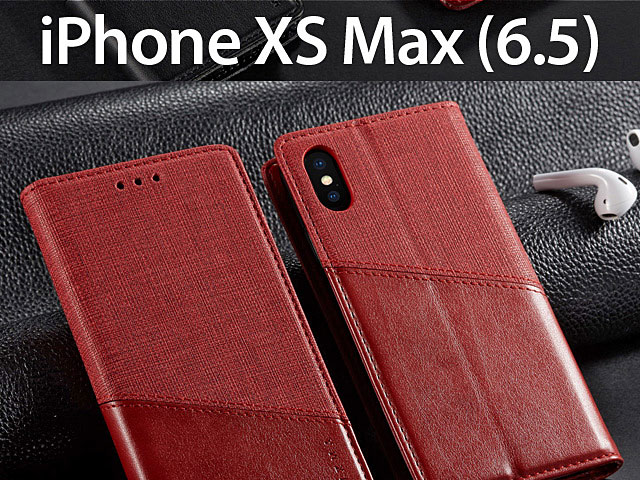 iPhone XS Max (6.5) Canvas Flip Card Case