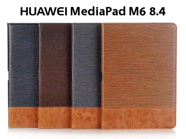Huawei MediaPad M6 8.4 Two-Tone Leather Flip Case