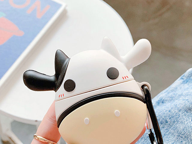 3D Cow AirPods Case