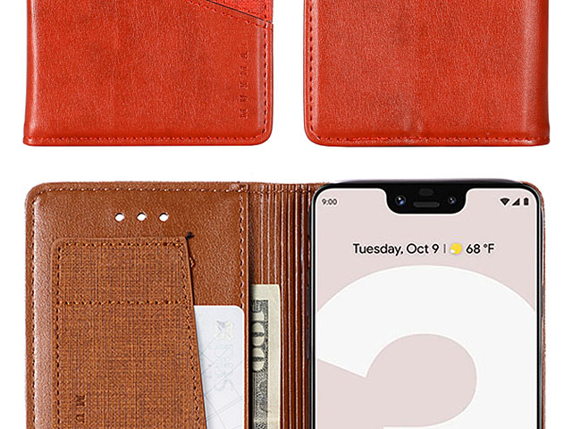 Google Pixel 3 XL Canvas Flip Card Case