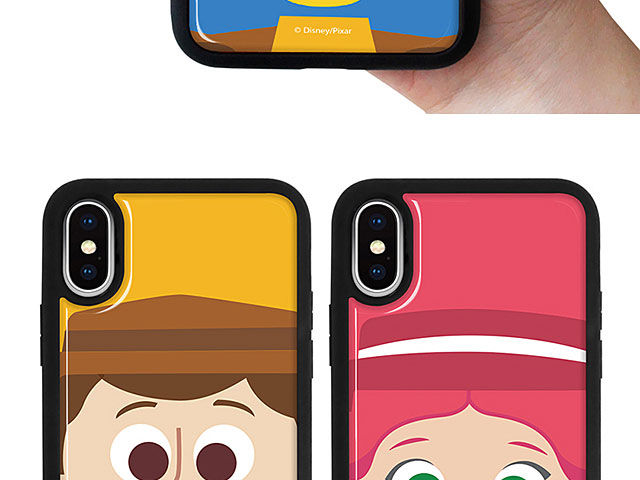iPhone XS Max (6.5) Toy Story Series Soft Back Case