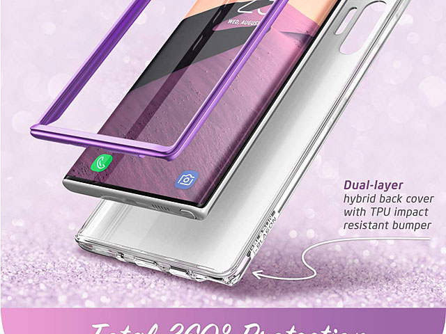 i-Blason Cosmo Slim Designer Case (Purple Marble) for Samsung Galaxy Note10+ / Note10+ 5G