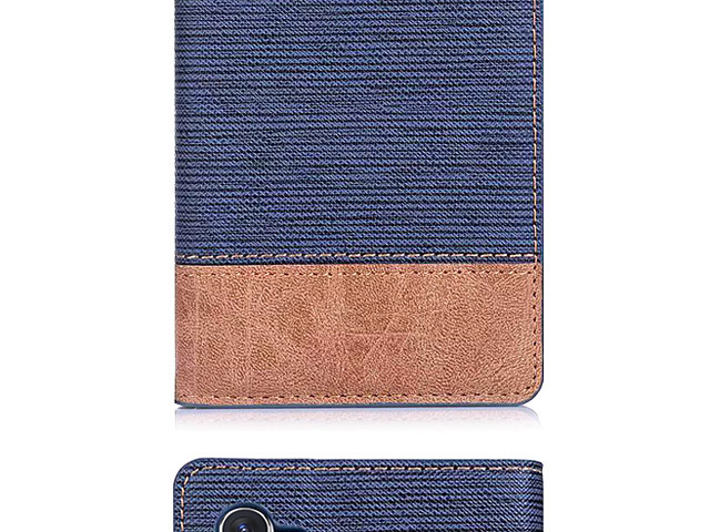 Samsung Galaxy Note10+ / Note10+ 5G Two-Tone Leather Flip Case