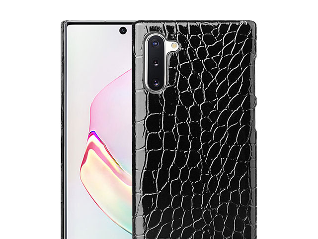 Samsung Galaxy Note10 / Note10 5G Crocodile Leather Back Case