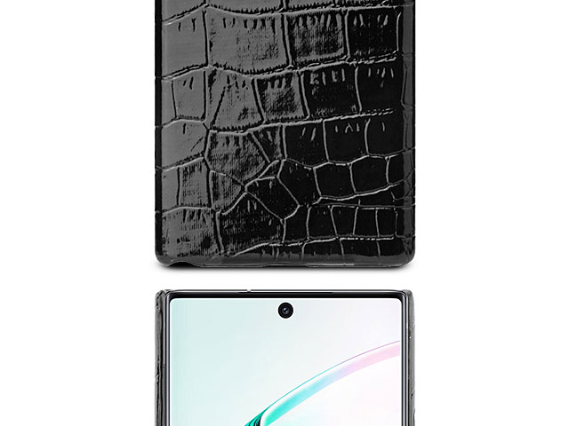 Samsung Galaxy Note10+ / Note10+ 5G Crocodile Leather Back Case