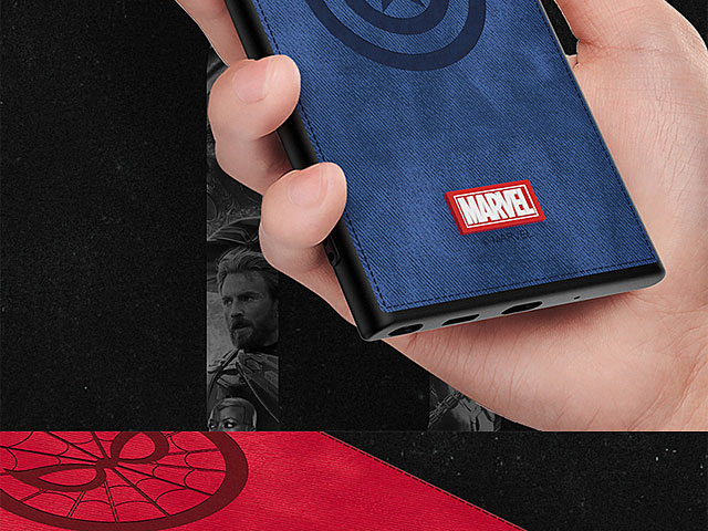 Marvel Series Fabric TPU Case for Samsung Galaxy Note10+