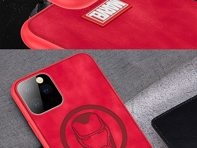 Marvel Series Fabric TPU Case for iPhone 11 Pro (5.8)