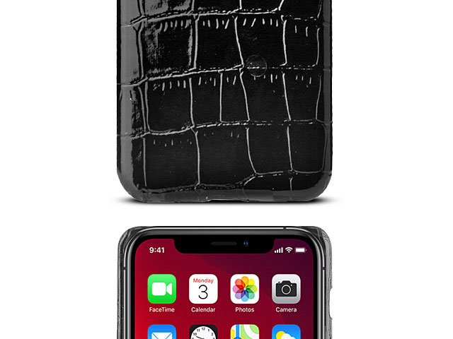iPhone 11 Pro Max (6.5) Crocodile Leather Back Case