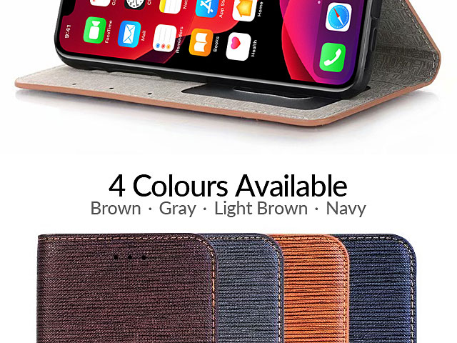 iPhone 11 Pro Max (6.5) Two-Tone Leather Flip Case
