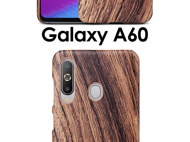 Samsung Galaxy A60 Woody Patterned Back Case