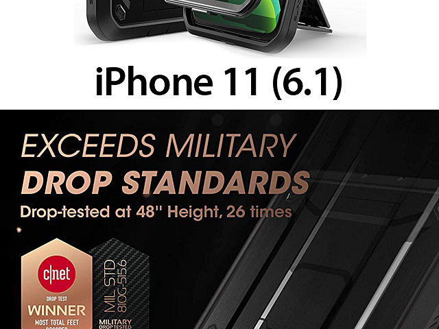 Supcase Unicorn Beetle Pro Rugged Holster Case for iPhone 11 (6.1)