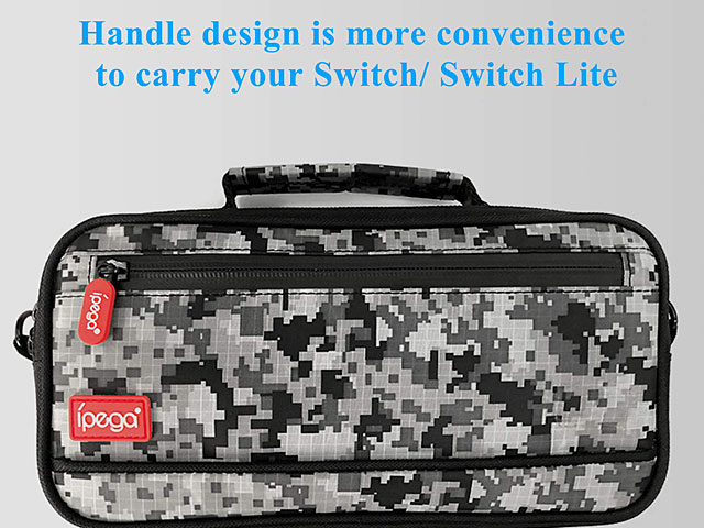 Camouflage Travel and Carry Case for Nintendo Switch/Nintendo Switch Lite