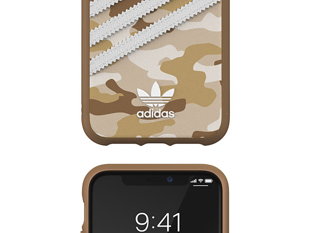 Adidas Moulded Case CAMO WOMAN FW19 (Camouflage Brown) for iPhone 11 (6.1)