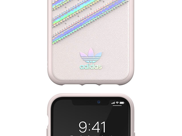 Adidas Moulded Case PU WOMAN FW19 (Orchid Tint/Holographic) for iPhone 11 (6.1)