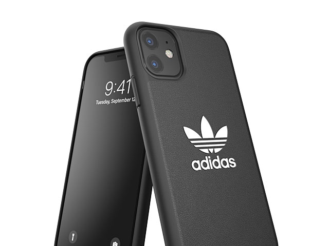 Adidas Moulded Case BASE FW19 (Black/White) for iPhone 11 (6.1)