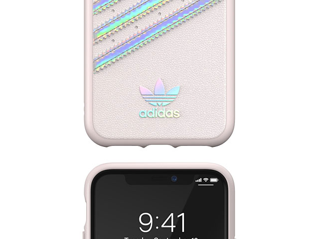 Adidas Moulded Case PU WOMAN FW19 (Orchid Tint/Holographic) for iPhone 11 Pro (5.8)