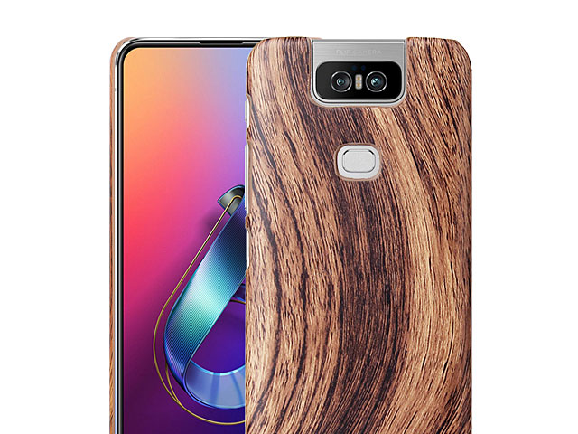 Asus Zenfone 6 ZS630KL Woody Patterned Back Case