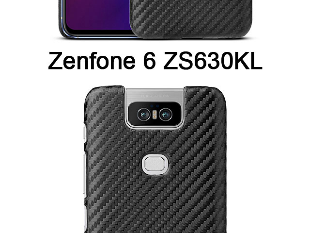 Asus Zenfone 6 ZS630KL Twilled Back Case