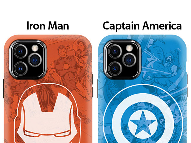 iPhone 11 Pro (5.8) Marvel Series Combo Case