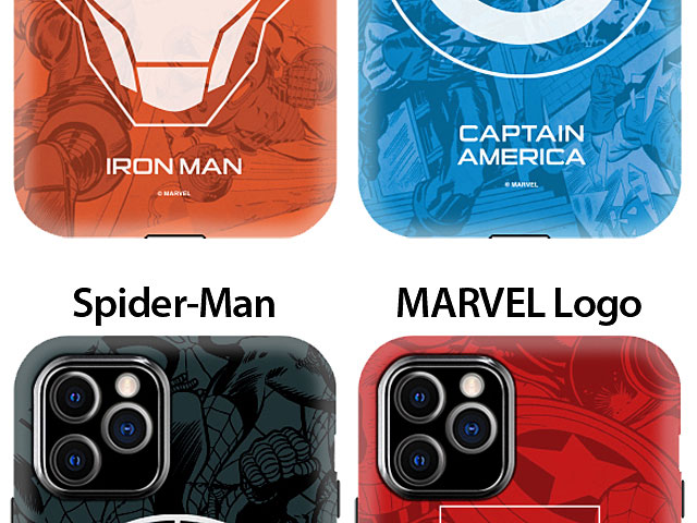 iPhone 11 Pro Max (6.5) Marvel Series Combo Case