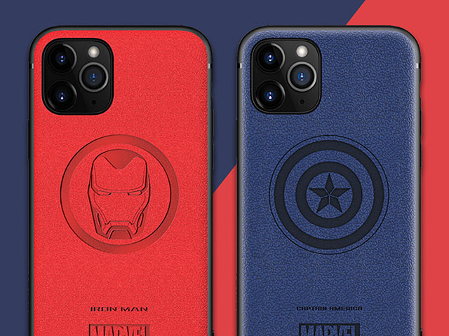Marvel Series Leather TPU Case for iPhone 11 Pro Max (6.5)