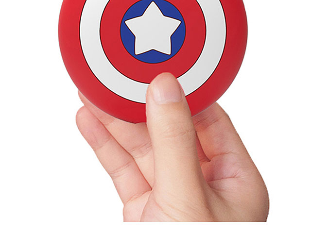 3D Captain America Shield AirPods Case