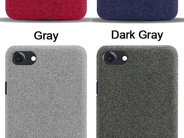 iPhone 7 / 8 Fabric Canvas Back Case