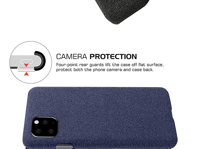 iPhone 11 Pro (5.8) Fabric Canvas Back Case
