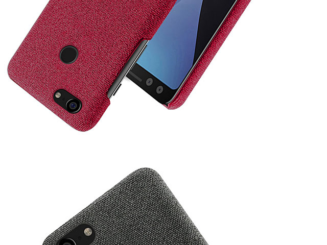 Google Pixel 3 Fabric Canvas Back Case
