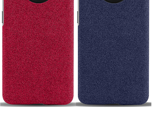 OnePlus 7T Fabric Canvas Back Case