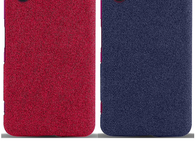Sony Xperia 5 Fabric Canvas Back Case